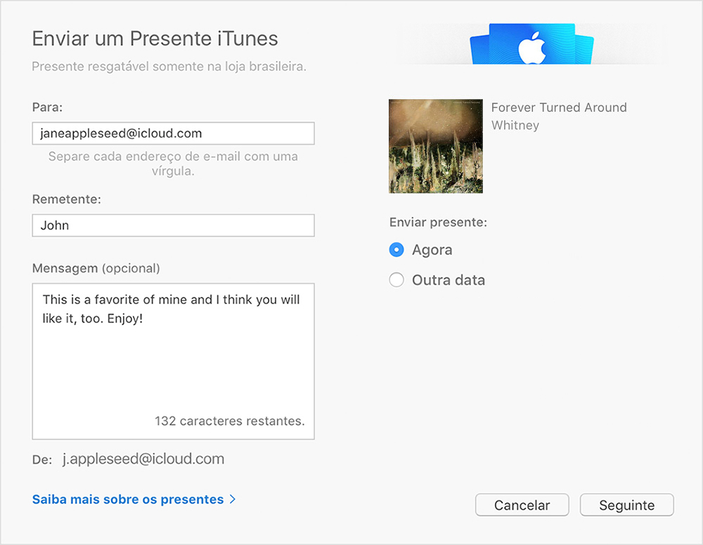 Itunes online store for music
