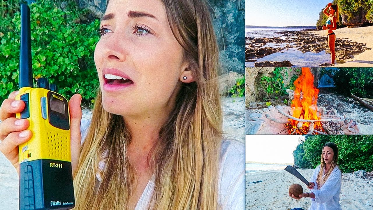 Stuck on island with naked women